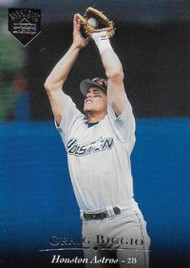 1995 Upper Deck Electric Diamond #25 Craig Biggio VG Houston Astros