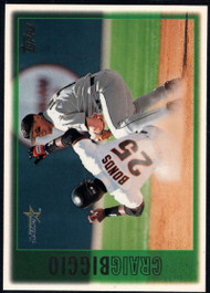 1997 Topps #85 Craig Biggio VG  Houston Astros