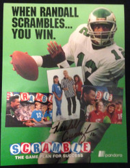 Randall Cunningham Scramble Promo Photo and Crew T-Shirt VERY RARE