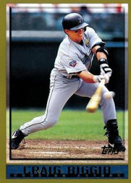 1998 Topps #318 Craig Biggio VG Houston Astros