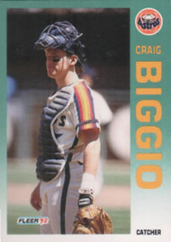 1992 Fleer #426 Craig Biggio VG Houston Astros