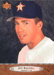 1996 Upper Deck #80 Jeff Bagwell VG Houston Astros