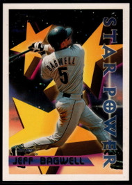 1996 Topps #4 Jeff Bagwell STP VG Houston Astros