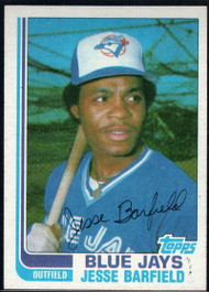 1982 Topps Traded #2T Jesse Barfield VG Toronto Blue Jays