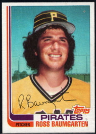 1982 Topps Traded #3T Ross Baumgarten VG Pittsburgh Pirates