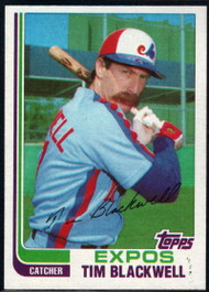 1982 Topps Traded #7T Tim Blackwell VG Montreal Expos