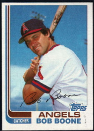 1982 Topps Traded #9T Bob Boone VG California Angels
