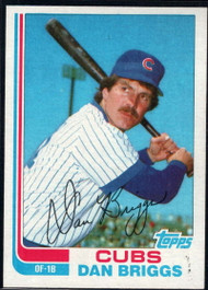 1982 Topps Traded #11T Dan Briggs VG Chicago Cubs