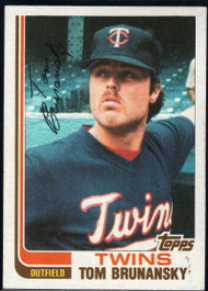 1982 Topps Traded #13T Tom Brunansky VG Minnesota Twins