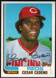 1982 Topps Traded #19T Cesar Cedeno VG Cincinnati Reds