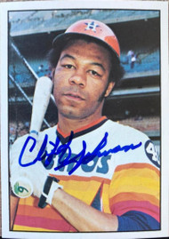 Cliff Johnson Autographed 1976 SSPC #51