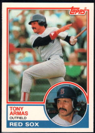 1983 Topps Traded #4T Tony Armas VG Boston Red Sox