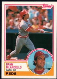 1983 Topps Traded #11T Dann Bilardello VG RC Rookie Cincinnati Reds