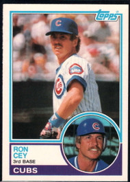 1983 Topps Traded #19T Ron Cey VG Chicago Cubs