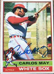 Carlos May Autographed 1976 Topps #110
