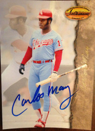 Carlos May Autographed 1994 Ted Williams Card Company #21