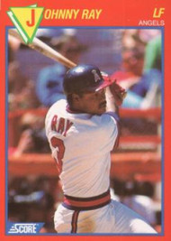 1989 Score Baseball's 100 Hottest Players #99 Johnny Ray NM-MT California Angels