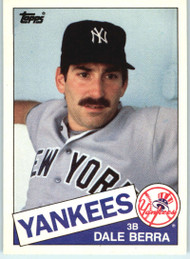 1985 Topps Traded #6T Dale Berra NM-MT New York Yankees