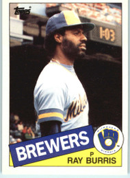 1985 Topps Traded #13T Ray Burris NM-MT Milwaukee Brewers