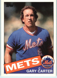 1985 Topps Traded #17T Gary Carter NM-MT New York Mets