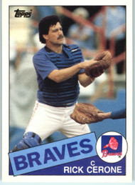 1985 Topps Traded #20T Rick Cerone NM-MT Atlanta Braves