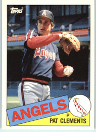 1985 Topps Traded #23T Pat Clements NM-MT RC Rookie California Angels