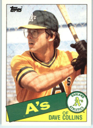 1985 Topps Traded #25T Dave Collins NM-MT Oakland Athletics