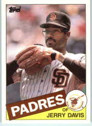 1985 Topps Traded #28T Jerry Davis NM-MT RC Rookie San Diego Padres
