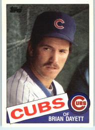 1985 Topps Traded #29T Brian Dayett NM-MT Chicago Cubs