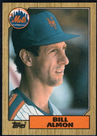 1987 Topps Traded #1T Bill Almon NM-MT New York Mets