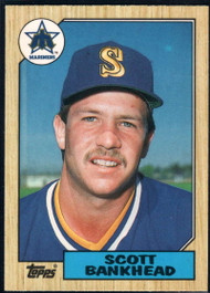1987 Topps Traded #2T Scott Bankhead NM-MT Seattle Mariners