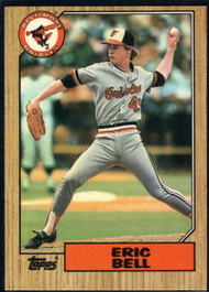 1987 Topps Traded #3T Eric Bell NM-MT RC Rookie Baltimore Orioles