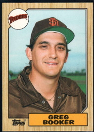 1987 Topps Traded #6T Greg Booker NM-MT San Diego Padres