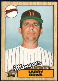 1987 Topps Traded #8T Larry Bowa MG NM-MT San Diego Padres