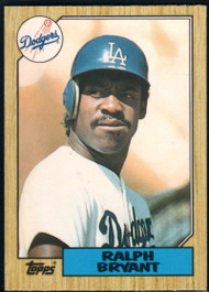 1987 Topps Traded #12T Ralph Bryant NM-MT RC Rookie Los Angeles Dodgers