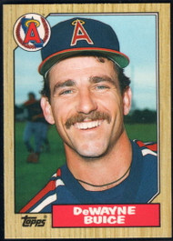 1987 Topps Traded #13T De Wayne Buice NM-MT RC Rookie California Angels