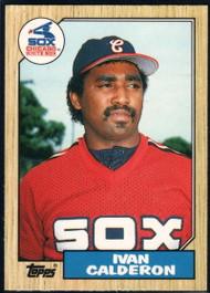 1987 Topps Traded #15T Ivan Calderon NM-MT Chicago White Sox