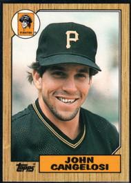 1987 Topps Traded #18T John Cangelosi NM-MT Pittsburgh Pirates