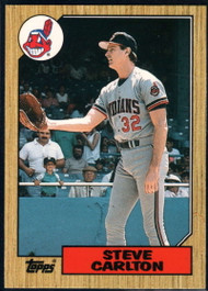 1987 Topps Traded #19T Steve Carlton NM-MT Cleveland Indians