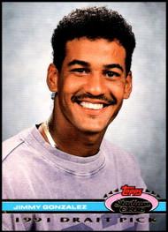 1992 Stadium Club Dome #63 Jimmy Gonzalez VG RC Rookie Houston Astros