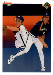 1990 Upper Deck #88 Mike Scott TC VG Houston Astros
