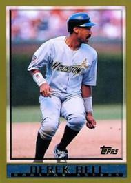 1998 Topps #299 Derek Bell VG Houston Astros