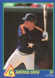 1989 Score Hottest 100 Rising Stars #3 Cameron Drew NM-MT Houston Astros