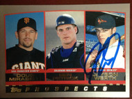 Jayson Werth Autographed 2000 Topps #448
