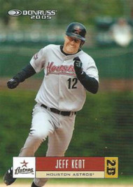 2005 Donruss #206 Jeff Kent VG Houston Astros