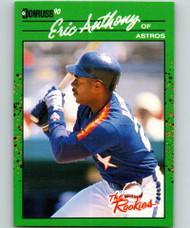 1990 Donruss Rookies #49 Eric Anthony VG Houston Astros