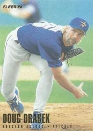 1996 Fleer #405 Doug Drabek NM-MT  Houston Astros