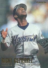 1996 Fleer #407 Ricky Gutierrez NM-MT  Houston Astros