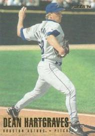 1996 Fleer #409 Dean Hartgraves NM-MT  RC Rookie Houston Astros