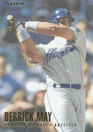 1996 Fleer #415 Derrick May NM-MT  Houston Astros